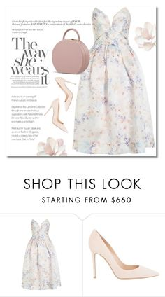"""""""Pure perfection"""" by buwood ❤ liked on Polyvore featuring Zimmermann and Gianvito Rossi"""