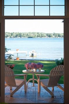 Serene Lake View | VanBrouck & Associates Inc., Luxury Residential Design