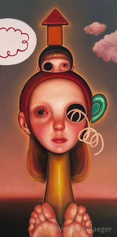 Veronica Yaeger | OIL | Sphinx Thing 2