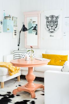 Du Corail dans ma déco : moodboard + inspirations - FrenchyFancy