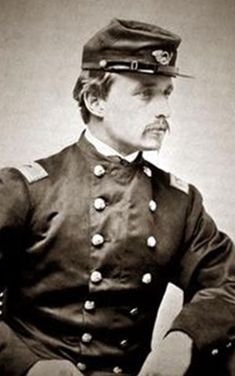 Colonel Robert Gould Shaw, commander of the all-black 54th Massachusetts regiment in the American Civil War. He was killed leading the attack on Fort Wagner in 1863.