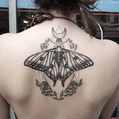caspermacabre_tattoos: Finished off this lovely Spanish moon moth today. Thanks so much! @adornedtattoovancity #tattoo #tattoos #tattoosvancouver #vancouvertattoo #vancouvertattooartist #vancouver #vancity #eastvancouver #eastvan #commercialdrive #caspermacabre #blackworkerssubmission #blackworkerssubmissions #blackworkers #btattooing #blackartstattoo #blackwork #moth #mothtattoo #moon #moontattoo #flowertattoo #art #yvr