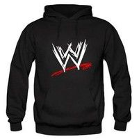 b00dca52923 WWE A big W logo on front pullover hoodie