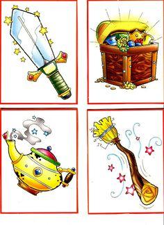 cartas para inventar cuentos - Glòria P - Álbumes web de Picasa