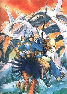 """Nausicaä"" by 宮﨑 駿 Hayao Miyazaki*  • Blog/Website | (www.ghibli.jp) ★ ||"
