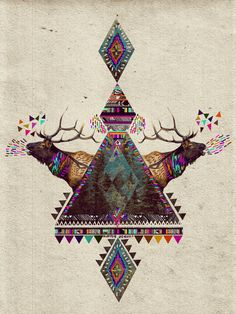VOICES OF THE FOREST Art Print by Kris Tate | Society6