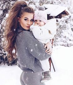 mommy and me – Schwangerschafts Fotos Mother And Baby, Mom And Baby, Mommy And Me, Baby Kids, Kids Girls, Cute Family, Baby Family, Family Goals, Cute Kids