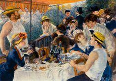 Pierre Auguste Renoir - Frühstück der Ruderer