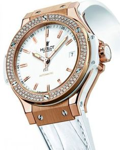 My dream watch- Hublot watch with diamonds.   Makes me smile :-) NV