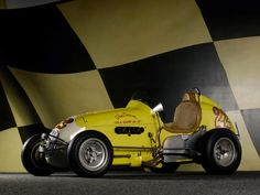 Kurtis Kraft Offenhauser Midget 1953 Kurtis Kraft Offenhauser Midget 1953 Photo 02 – Car in pictures - car photo gallery Old Sports Cars, Old Race Cars, Sprint Car Racing, Auto Racing, Engin, Vintage Race Car, Indy Cars, Go Kart, Car Photos