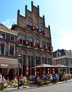 De oudste kroeg van Nederland, Hollands oldest bar: De Waag in Doesburg. The Netherlands