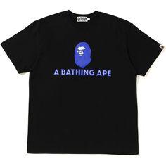 BAPE RELAXED MAD FACE TEE BLACK. #bape #cloth Bape, Mad Face, A Bathing Ape, Superfly, Hypebeast, Kill Bill, Mens Fashion, Tees, Mens Tops