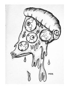 🔔#slice #pizza #eye #inktober2018 #inktober #artsupplies #ink #challenge #promptlist #sketch #sketchbook #instaart #artistsoninstagram #congrats Slice Pizza, Inktober, Insta Art, Challenge, Sketch, Eye, Artist, Sketch Drawing, Artists