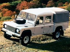 Land Rover Defender 130 Double Cab High Capacity Pickup (1990 - 2007).