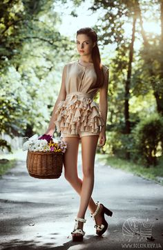 The Sweet Ride by Victoria Bolkina, via Behance