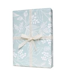 Spearmint Blossoms Set of 3 rolled wrapping sheets - Rifle Paper Co