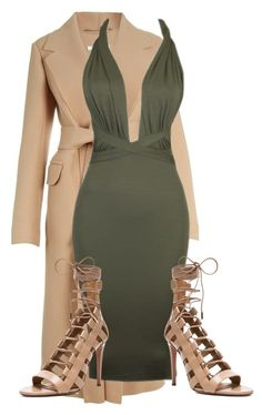 A fashion look from October 2015 featuring Carven coats and Aquazzura sandals. Browse and shop related looks. Dressy Outfits, Chic Outfits, Sexy Outfits, Sexy Dresses, Casual Dresses, Fashion Outfits, Womens Fashion, Fashion Trends, Night Outfits