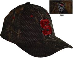 NC State- Zephyr Mossy Oak Hat  Conference Apparel & College Sports Apparel - Conference Wear - Salisbury, North Carolina College Hats, Sports Apparel, Mossy Oak, Salisbury, Priority Mail, Sport Outfits, North Carolina, Conference, Baseball Hats
