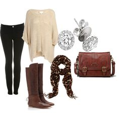 laidback winter outfit