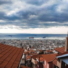 """Thessaloniki Travel on Instagram: """"Cloudy days with panoramic views 👀 Who else is feeling like having a lazy day with a hot cup of coffee today? #visitthessaloniki"""" Coffee Today, Cloudy Day, Thessaloniki, San Francisco Skyline, Coffee Cups, Lazy, Greece, Country, Hot"""