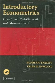 Bestseller Books Online Introductory Econometrics: Using Monte Carlo Simulation with Microsoft Excel Humberto Barreto, Frank Howland $73.17  - http://www.ebooknetworking.net/books_detail-0521843197.html