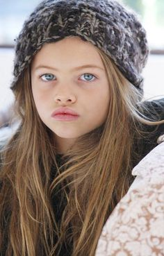 Thylane Lena-Rose Blondeau- this girl know how to wear a hat