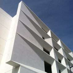 Great parking garage precast panels in San Francisco.