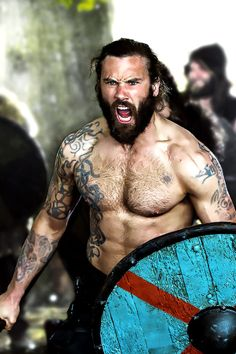 My favourite Berzerker - Clive Standen as Rollo in Vikings