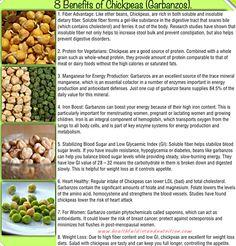 8 Benefits of Chickpeas (Garbanzos)
