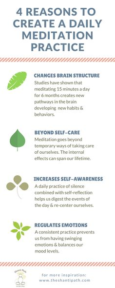 Meditation has life-changing benefits that help us find happiness beyond anything temporary. Meditation gives us the tools to gain real peace of mind in our daily lives. | theshantipath.com