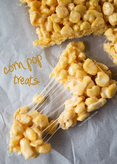 Corn Pop Treats | tablefortwoblog.com