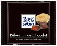RITTER SPORT Fake Schokolade Rübenmus au Chocolat