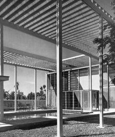 Philip Hiss Residence : The Umbrella House, Lido Shore, Sarasota FL (1953) | Paul Rudolph