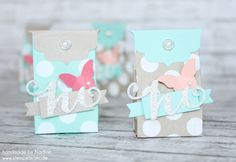 Goodie Stampin Up Verpackung Box One Sheet Box Give Away Gift 001