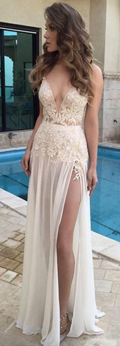 #ivory #chiffon #prom #party #evening #dress #dresses #gowns #cocktaildress #EveningDresses #promdresses #sweetheartdress #partydresses #QuinceaneraDresses #celebritydresses #2017PartyDresses #2017WeddingGowns #2017HomecomingDresses #LongPromGowns #blackPromDress #AppliquesPromDresses #CustomPromDresses  #backless #sexy #mermaid #LongDresses #Fashion #Elegant #Luxury #Homecoming  #CapSleeve #Handmade #beading