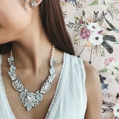 Brunch Outfit Bridal Shower Bridal Party Jewelry