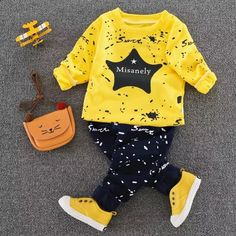 a410f2edc Spring Autumn New Baby Boys Girls Sport Suit 2017 Children Boys Clothing  Set Toddler Casual Kids Clothes Tracksuit Set