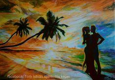 Szent szerelem  Tóth István festőművész Painting, Art, Art Background, Painting Art, Kunst, Paintings, Performing Arts, Painted Canvas, Drawings