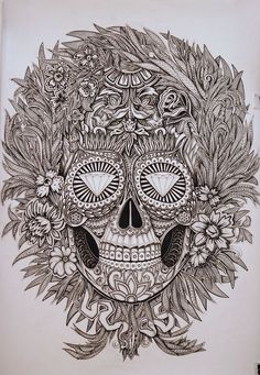 Mexican skull  Alex Konahin
