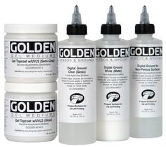 An Introduction to the Various Types of Acrylic Mediums for Painting: Acrylic Mediums for Making Ink-Jet Prints