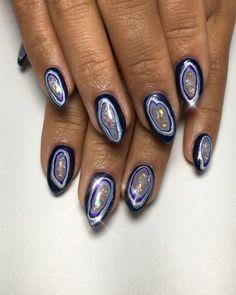 Le nail art géode va te donner envie de cristaux jusqu'au bout des ongles   Shōko