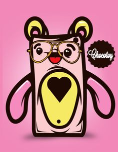 Character Design ChocoToy on Behance