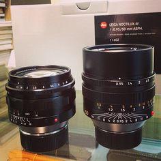 Leica Noctilux-M 50mm f0.95 ASPH And Voigtlander Nokton 50mm f1.1  #Leica #Leitz #Fotopia #Rangefinder #cameraporn #Noctilux #50mm #Voigtlander #Nokton