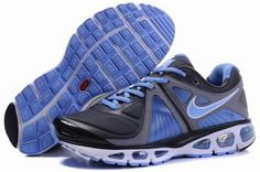 outlet store fc3c4 560b2 Nike Air Max Tailwind 4 Wmns Running Shoe 207359 003 Grey Blue Black