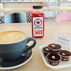 "Revolucion Coffee + Juice -- ""delightfully floral Honey Lavender Latte is a must"""