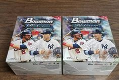 2017 Bowman Platinum Baseball Card Hobby Two Box Lot! Judge, Bellinger, Bryant | Sports Mem, Cards & Fan Shop, Sports Trading Cards, Baseball Cards | eBay!