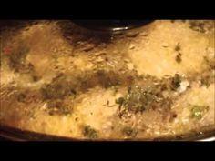 cooking a chicken carcass