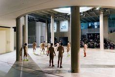 "Eddie Peake ""Duro"" performance at Palais de Tokyo, Paris - purple ART"