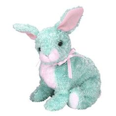 TY Beanie Baby - SPRING the Green Bunny (5 inch)