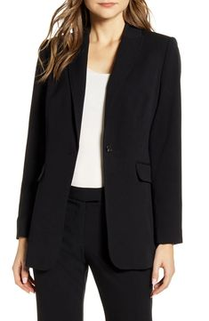 Vince Camuto Nina Notched Collar Blazer | Nordstrom Coats For Women, Clothes For Women, Sequin Blazer, Minimal Outfit, Blazer Outfits, Casual Outfits, Elegant Outfit, What To Wear, Fashion Outfits